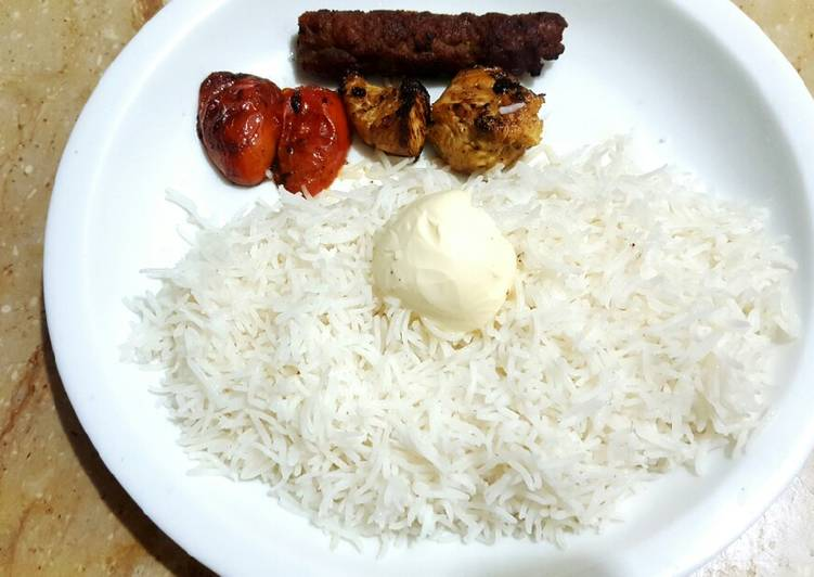 Persian Style Joojeh Kabob🍡🌶
