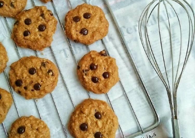 Oat Chocolate Chips Cookies #PR_KueKering