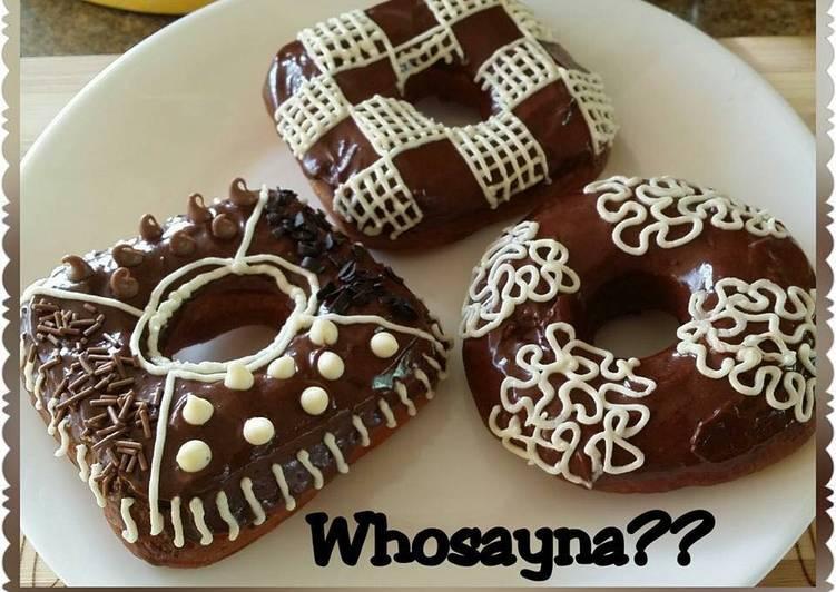 Recipe of Favorite Whosayna's Nutella Donuts