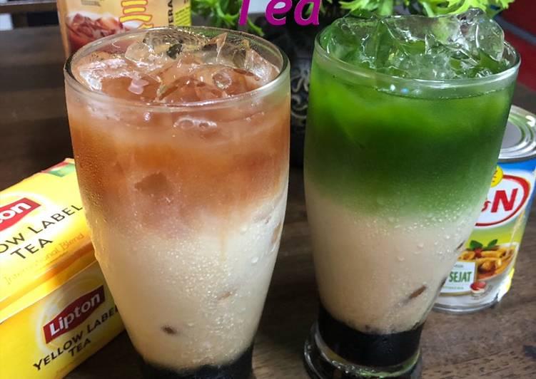 Three layer tea a.k.a Teh C Peng - resepipouler.com