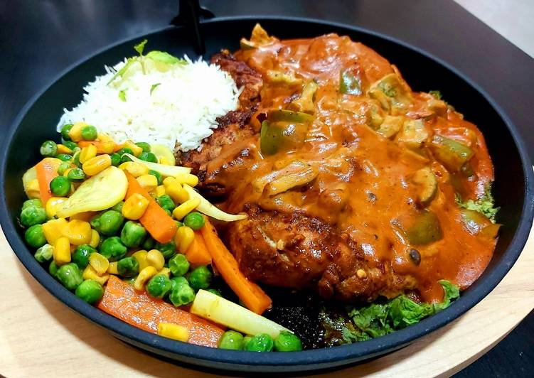 Discover How to Elevate Your Mood with Food Spicy chicken steak