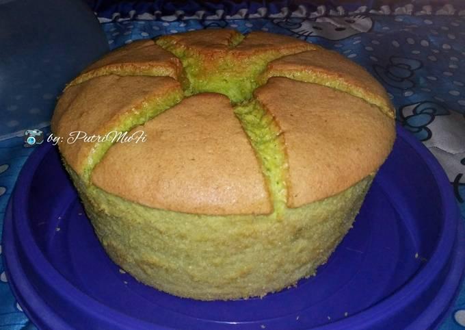 Resep Chiffon cake cucumber yang Lezat Sekali