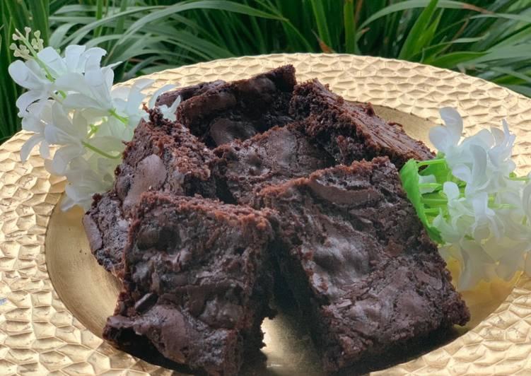 Fudgy brownie ❤️😋