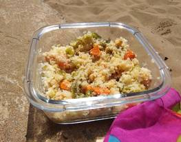 Ensalada de garbanzos playera