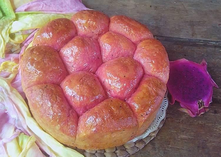 Roti Buah Naga Roti Sobek Buah Naga Ulen Tidak Sampai Elastis