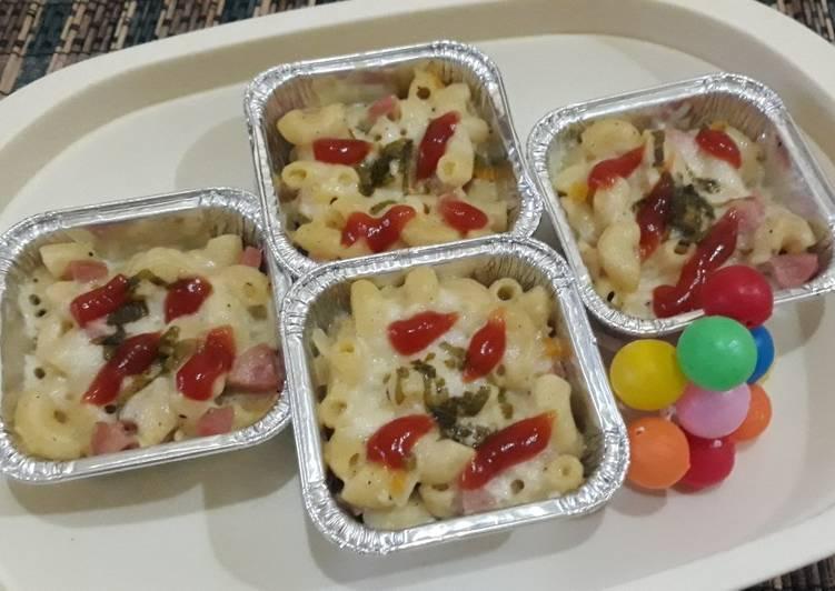Makaroni schotel kukus it's so easy & yummy 🥙🥙