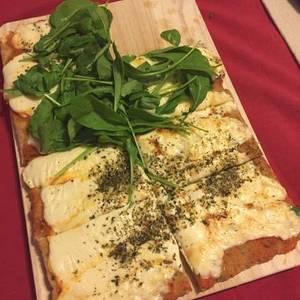 Masa para pizza con harina integral