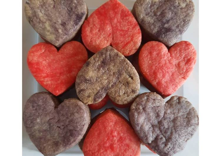 (3 Ingredients Only) Love Cookies