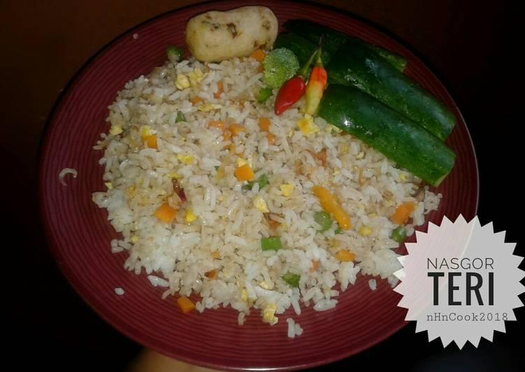 Nasi Goreng Teri (#pr_wantuteri)