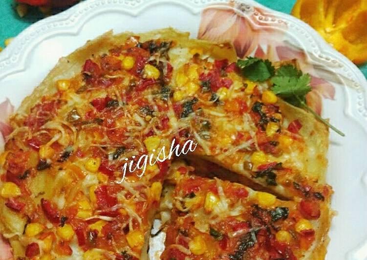 Recipe: Delicious Vegetable lasagna