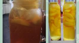Hình ảnh món Đào ngâm và trà đào