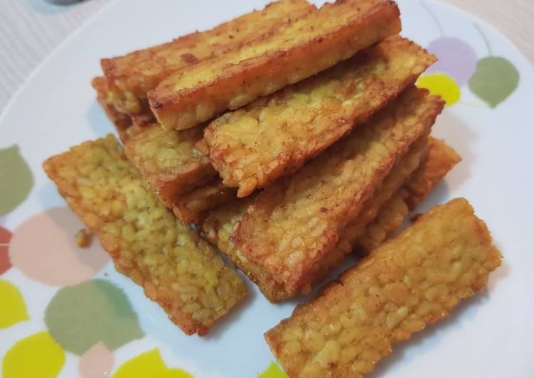 Recipe of Homemade Fried Tempeh