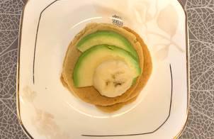 Ăn dặm - Sữa Yến mạch bơ và Pancake Yến mạch bơ