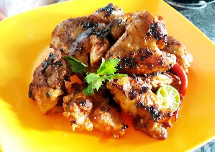 Toasted Chicken with a pan (Ayam panggang teflon) - cookandrecipe.com
