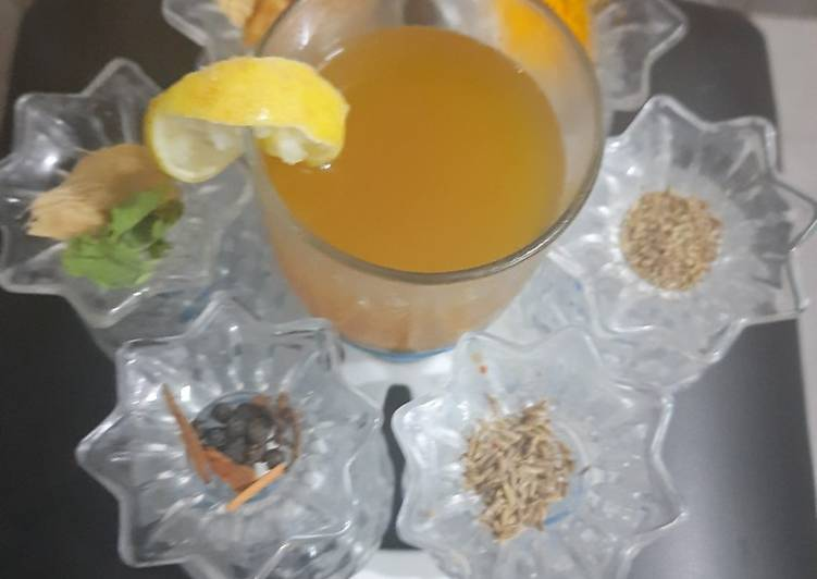 Immunity booster drink for Corona preservation