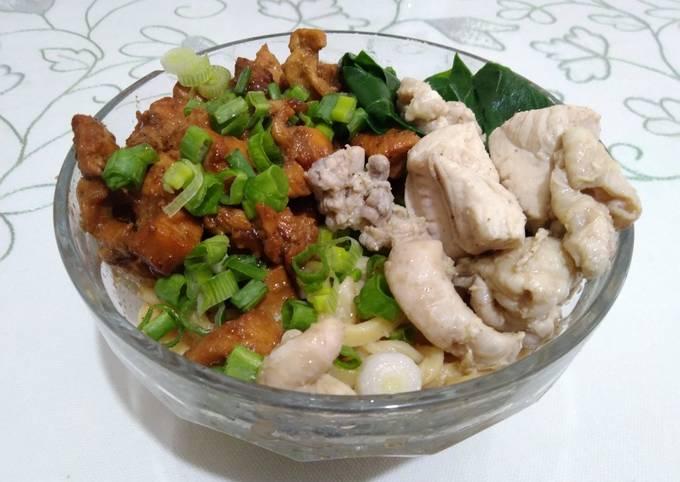 Mie Ayam Bangka Simple (Masak Di Turki)