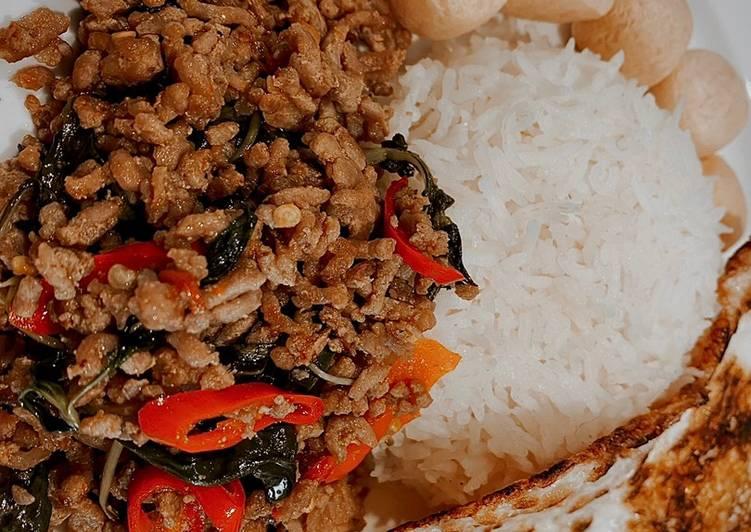 Phat Kaphrao (Thai 🇹🇭 Streetfood)