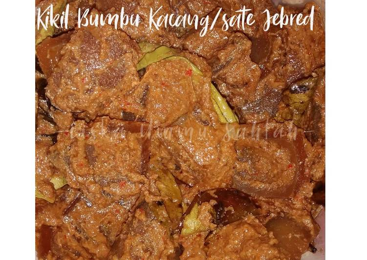 Kikil Bumbu Kacang/Sate Jebred