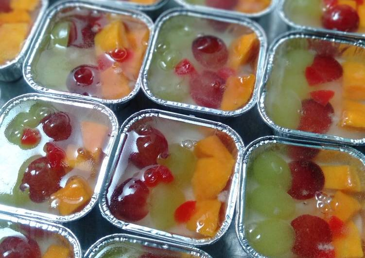 Pudding Buah