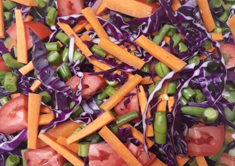 Quick spring salad