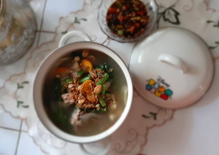 Sop Rempah Tulang&Daging Sapi