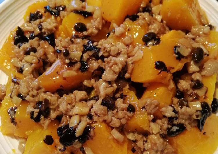 Recipe: Delicious Pumpkin in Black Bean