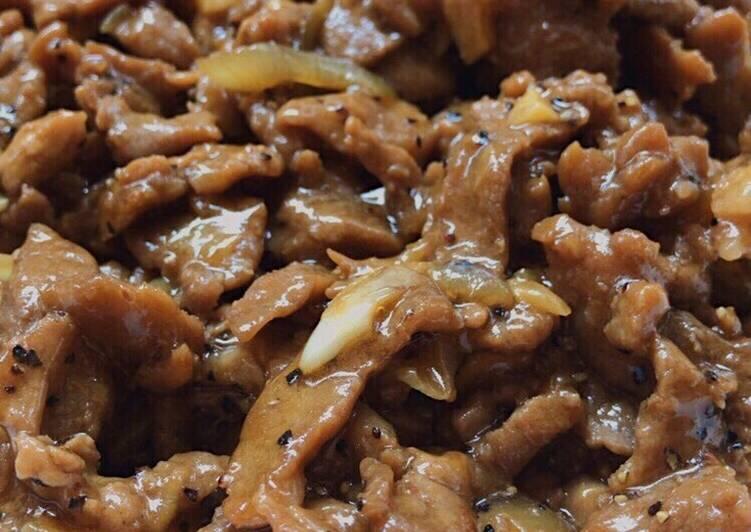 Beef Yakiniku Ala Hokben