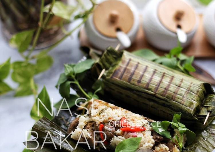 Nasi Bakar ala Fla kitchen