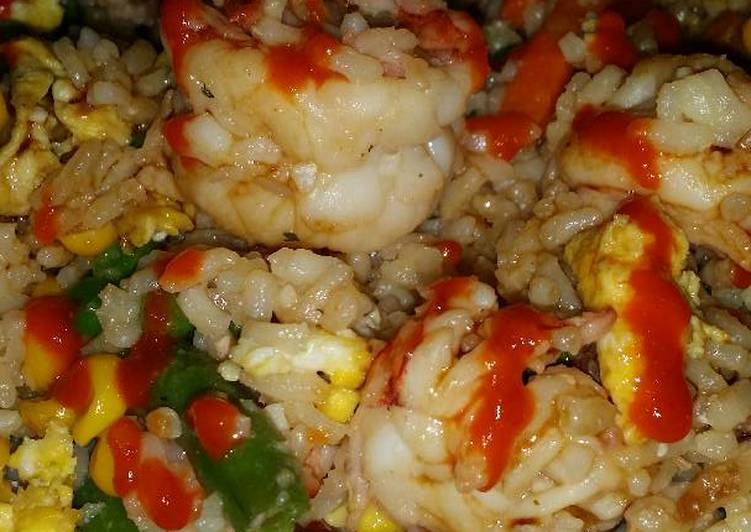 Easiest Way to Cook Perfect Brad's prawn fried rice