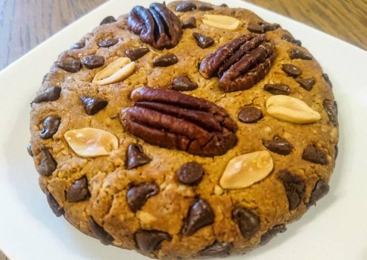 Comment Préparer Les Cookie vegan géant 🍪