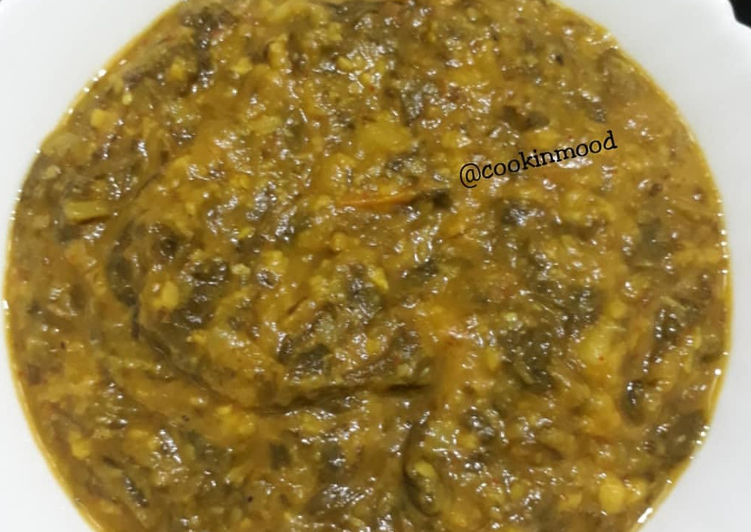 Easiest Way to Prepare Appetizing Sai Bhaji / Dal Palak /Spinach
