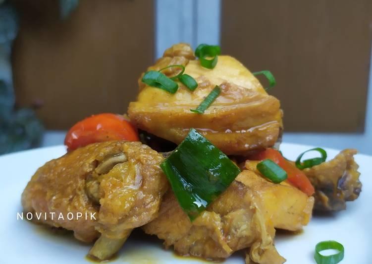 Bagaimana Masak Ayam Kecap, Lezat Sekali