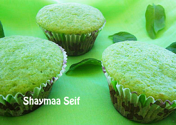 Spinach cupcakes