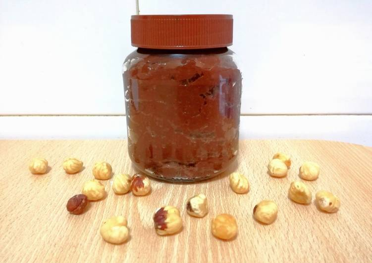 Nocilla/Nutella casera saludable (real food)