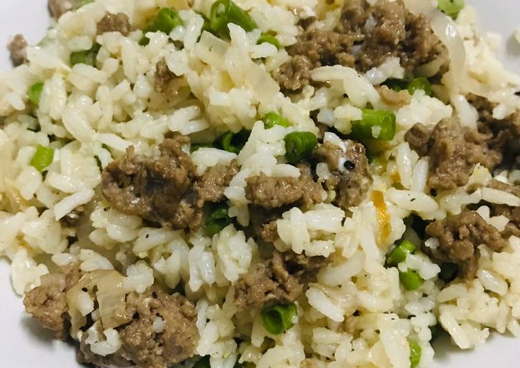 Cara Mudah Masak: Nasi Goreng Daging Cincang Simple