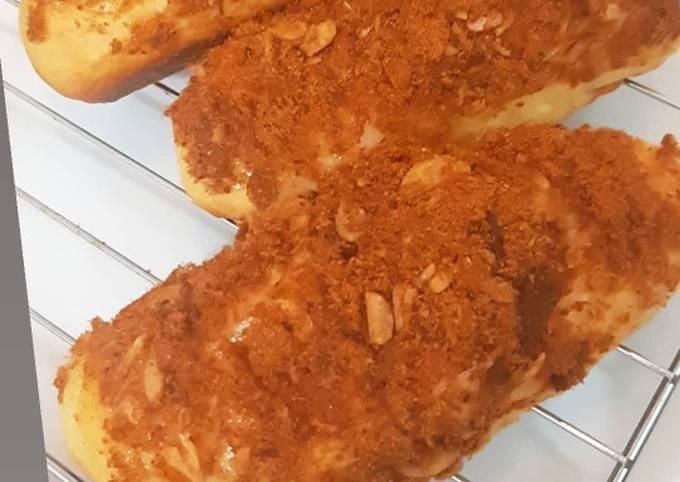 Roti abon kualitas bakery