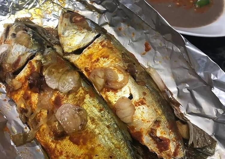 Resepi Ikan Kembung Panggang Segera - resepipouler.com