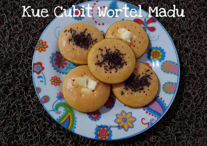 Resep Kue Cubit Wortel Madu yang Bisa Manjain Lidah