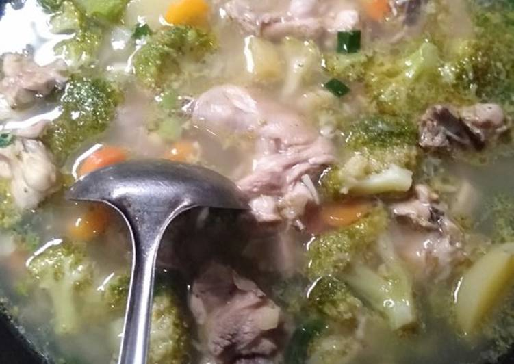 Resep SOP ayam sayuran Yang Populer Endes