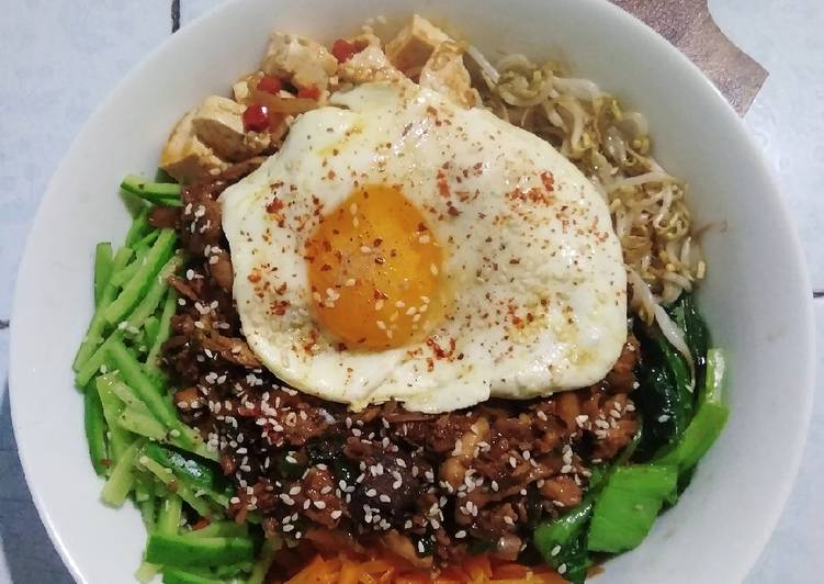 BibimBap 🍱 Korean Rice Bowl