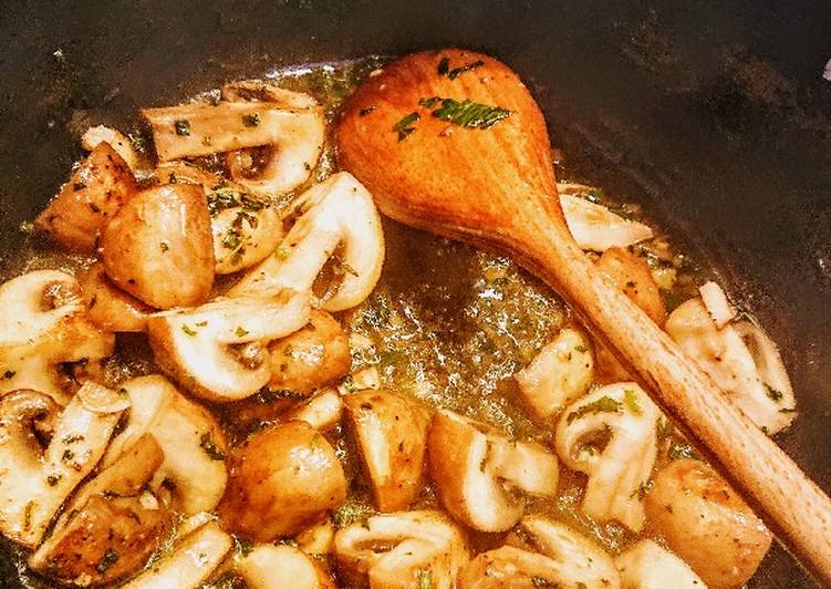 Recipe of Perfect Garlicky Mushrooms