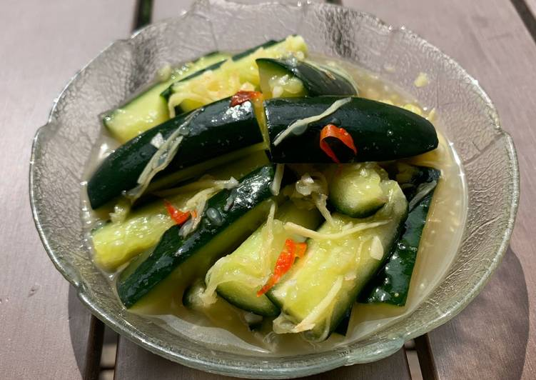 Recipe: Appetizing Cucumber Salad