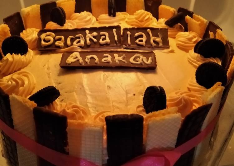 Cake Hias (Kue Ulang Tahun) ala Mama Canaz