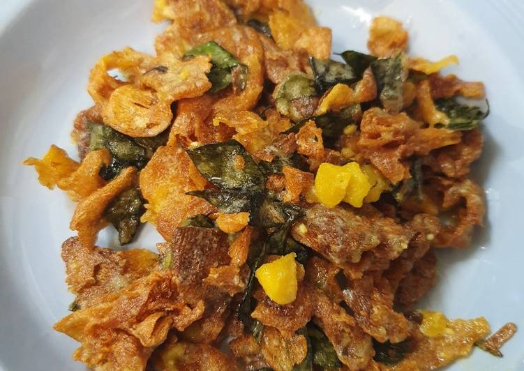 How to Make Quick Salted egg Chips