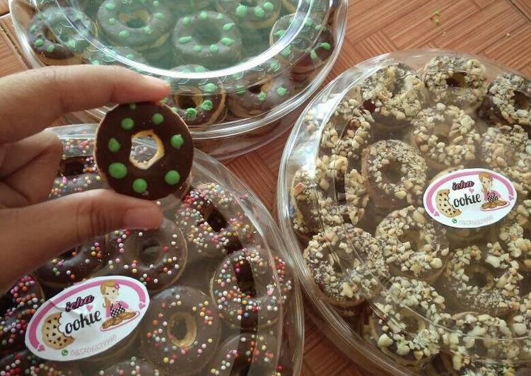 Cookies donat simple no egg by@mami farah
