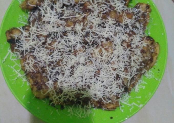 Pisang Kipas coklat keju crispy (Piscokke)