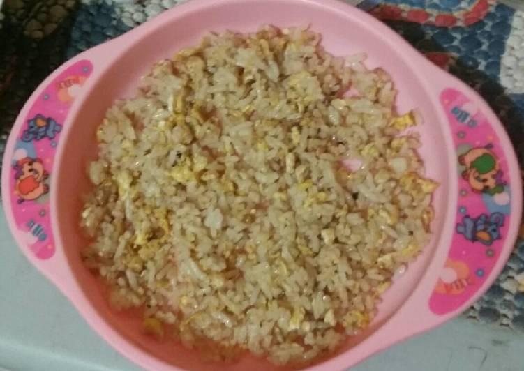 Resep Menu anak 1y+ nasi goreng telur Paling Top