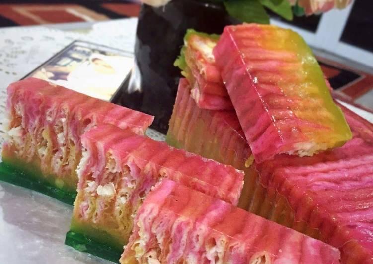 Puding Roti Jagung Durian