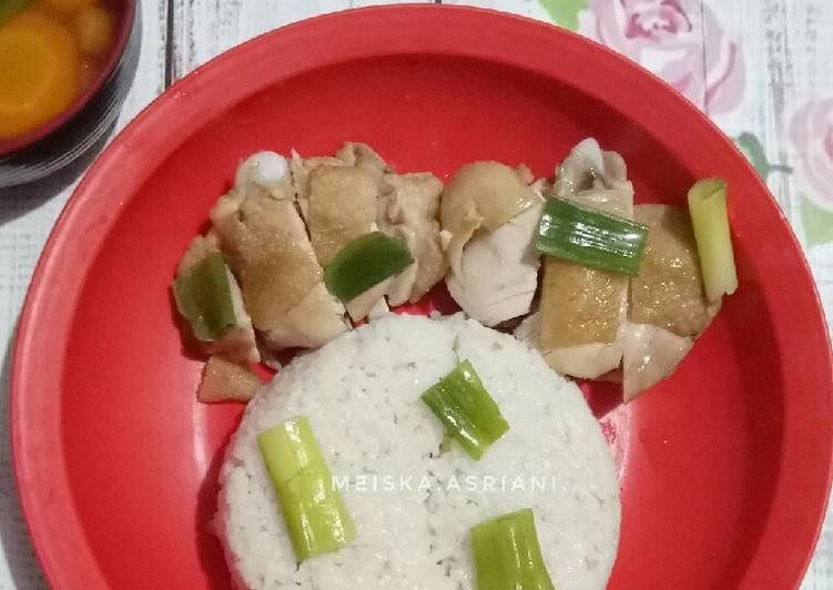 Resep Nasi Hainan Ayam, Bikin Ngiler