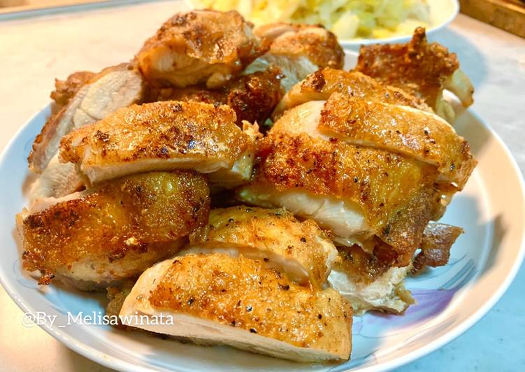 Ayam goreng black pepper